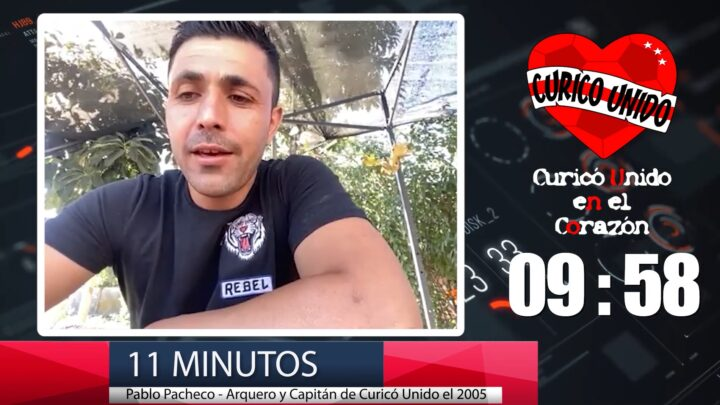 11 MINUTOS CON PABLO PACHECO