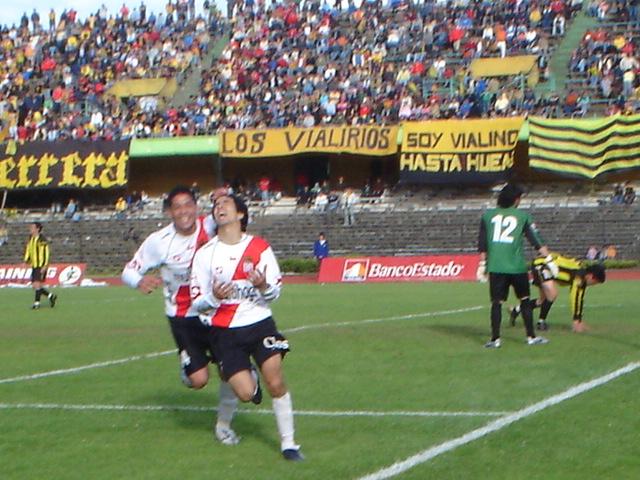 TRIUNFAZO CLAVE ANTE EL VIAL EL 2006
