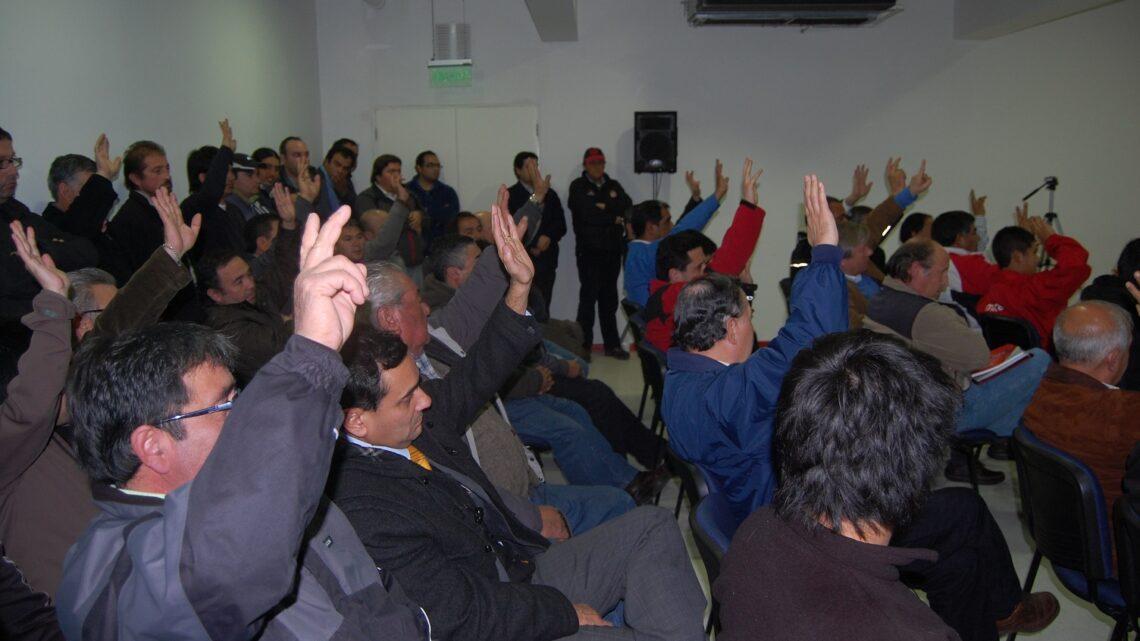 NUEVA ASAMBLEA CON SOLO 2 TEMAS PARA EL MARTES 23