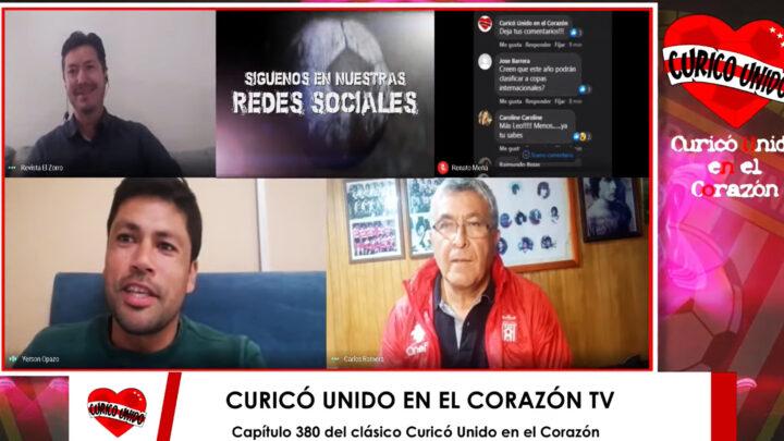 CAP 380 TV – CON YERSON OPAZO Y CHULA ROMERO