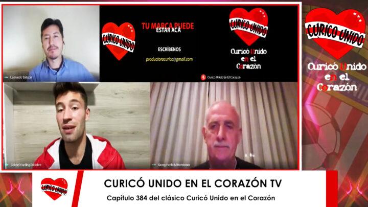 CAP 384 TV CON GABRIEL HARDING Y GEORGE HECHT