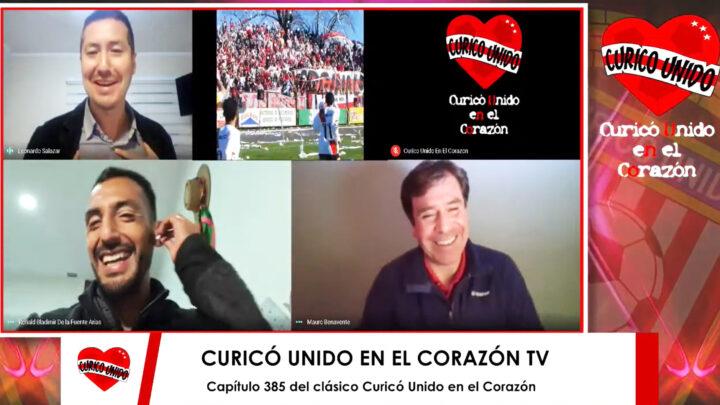 CAP 385 TV CON RONALD DE LA FUENTE Y MAURICIO BENAVENTE